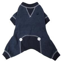 FouFou Thermal Dog Pajamas - Navy