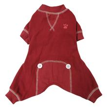 FouFou Thermal Dog Pajamas - Red