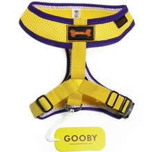 Freedom Sport Dog Harness by Gooby - Yellow/Purple