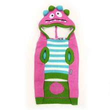 Funny Monster Dog Sweater by Dogo - Pink