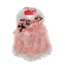 Furry Princess Dog Harness Dress