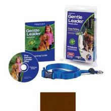 Gentle Leader Headcollar - Brown with Quick-Snap Buckle