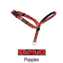 Gentle Leader Headcollar - Poppies with Quick-Snap Buckle
