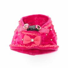 Glam Quilted Dog Harness by Dogs of Glamour - Pink