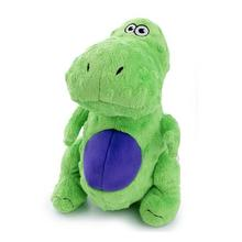GoDog Dino T-Rex Dog Toy - Green