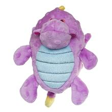 GoDog Dragon Grunter Dog Toy - Violet