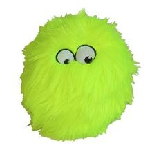 GoDog Furballz Dog Toy - Lime