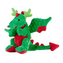 GoDog Reindeer Dragon Dog Toy - Green