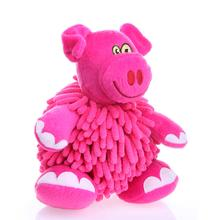 GoDog Mopz Dog Toy - Pink Pig