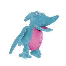 GoDog Pterodactyl Dog Toy - Blue