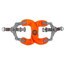 Gooby Escape Free Step-In Dog Harness - Orange