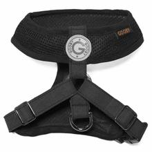 Gooby Freedom Dog Harness II - Black
