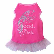 Good Witch Tank Dog Dress - Pink