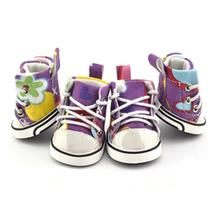 Graffiti Converse Dog Shoes by Parisian Pet