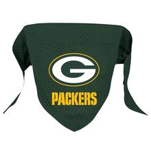 Green Bay Packers Mesh Dog Bandana