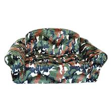 Green Camo Pull Out Pet Sleeper Sofa Dog Bed