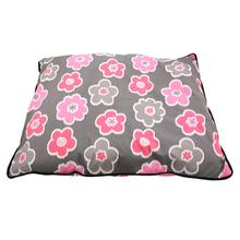 Grey Floral Dog Futon by Up Country