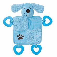 Grriggles Baby Bark Puppy Blanket - Baby Blue