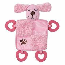 Grriggles Baby Bark Puppy Blanket - Baby Pink