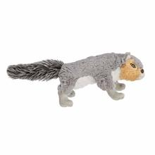 Grriggles Backwoods Buddy Dog Toy - Squirrel