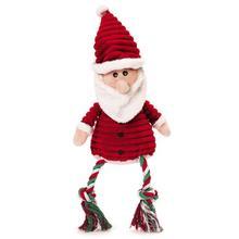 Grriggles Corduroy Cuddler Dog Toy - Santa