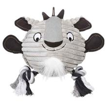 Grriggles Free-Range Friend Dog Toy - Goat
