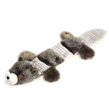 Grriggles Fuzzy Squeak Dog Toy - Beaver