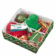 Grriggles Holiday Hound Gift Set - Green