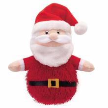 Grriggles North Pole Shaggle Dog Toy - Santa