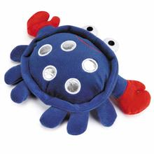 Grriggles Patriotic Pooch Crab Dog Toy - Blue