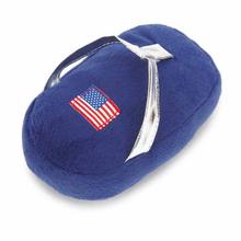 Grriggles Patriotic Pooch Flip-Flops Dog Toy - Blue