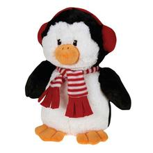 Grriggles Peppermint Penguins Dog Toy