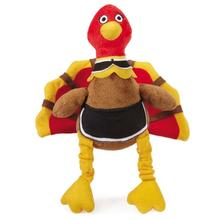 Grriggles Pilgrim Turkey Dog Toy - Priscilla