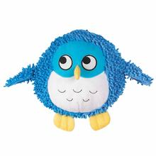 Grriggles Plump Dog Bunch Dog Toy - Blue