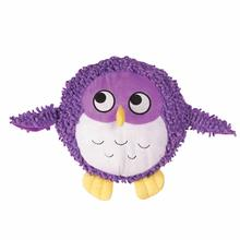 Grriggles Plump Dog Bunch Dog Toy - Purple