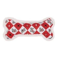 Sweetheart Scottie Dog Toy - Bone