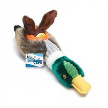 Grriggles Tennis Flock Dog Toy - Mallard Duck
