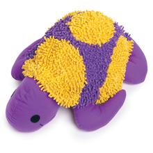 Grriggles Tropical Turtle Dog Toy - Purple
