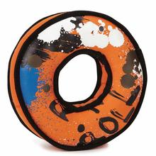 Grriggles XTRM Pro Tire Dog Toy - Blue and Orange