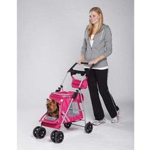 Guardian Gear Classic II Dog Stroller - Magenta