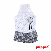 Gypsophila Dog Dress by Puppia - White