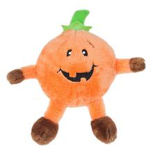 Halloween Brainey Dog Toy - Pumpkin