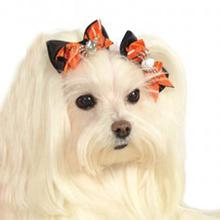 Halloween Spider Dog Hairbows by Rubies