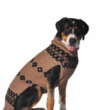 Handmade Alpaca Wool Granola Dog Sweater