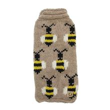 Handmade Bumble Bee Wool Dog Sweater