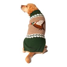 Handmade Mallard Wool Dog Sweater