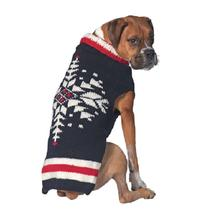Handmade Nordic Ski Team Wool Dog Sweater
