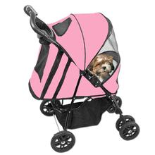Happy Trails Dog Stroller - Pink Ice