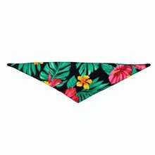 Hawaiian Dog Bandana by Push Pushi - Black
