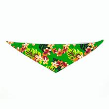 Hawaiian Dog Bandana by Push Pushi - Green